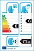 etichetta europea dei pneumatici per Michelin Cross Climate + 175 60 14 83 H