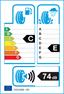etichetta europea dei pneumatici per michelin Latitude Alpin Hp 255 55 18 105 V 3PMSF FR M+S MO