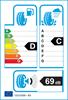 etichetta europea dei pneumatici per Michelin Latitude Alpin La2 255 45 20 105 V 3PMSF M+S MO XL