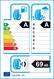 etichetta europea dei pneumatici per michelin Latitude Tour Hp 215 60 17 96 H M+S