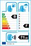 etichetta europea dei pneumatici per michelin Latitude X-Ice X12 255 55 18 109 T 3PMSF M+S XL