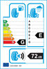 etichetta europea dei pneumatici per Michelin Mxv 185 80 14 90 H