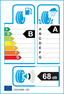 etichetta europea dei pneumatici per Michelin Pil Sport 4 225 45 17 94 W XL