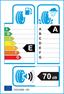 etichetta europea dei pneumatici per Michelin Pil Sport 4 225 45 17 91 Y