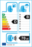 etichetta europea dei pneumatici per Michelin Pilot Alpin 5 225 40 18 92 W 3PMSF M+S XL