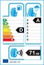 etichetta europea dei pneumatici per Michelin Pilot Sport 3 195 45 16 84 V XL