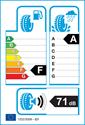 etichetta europea dei pneumatici per Michelin PILOT SPORT 3 225 45 17