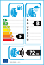 etichetta europea dei pneumatici per Michelin Pilot Sport 3 195 50 15 82 V FR