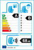 etichetta europea dei pneumatici per Michelin Primacy 4 185 65 15 88 H DEMO E
