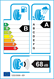 etichetta europea dei pneumatici per Michelin Primacy 4 225 45 18 95 W XL