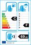 etichetta europea dei pneumatici per michelin X Ice North 4 Suv 225 65 17 106 T 3PMSF EL