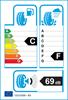 etichetta europea dei pneumatici per Michelin X-Ice Snow 215 50 17 95 H C XL
