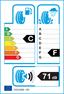 etichetta europea dei pneumatici per Michelin X-Ice Xi3 205 55 16 94 H 3PMSF FR GRNX M+S