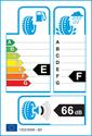 etichetta europea dei pneumatici per Michelin x-ice xi3 205 55 16