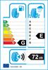 etichetta europea dei pneumatici per Michelin Xdx 185 70 13 86 v
