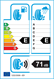 etichetta europea dei pneumatici per MIRAGE Mr-Hp172 215 60 17 96 H