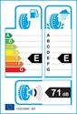 etichetta europea dei pneumatici per Momo M-3 OUTRUN 195 55 16