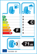 etichetta europea dei pneumatici per Momo North Pole W1 185 55 15 82 H 3PMSF M+S MFS