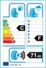 etichetta europea dei pneumatici per Nankang As-1 135 70 15 70 T