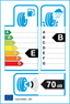 etichetta europea dei pneumatici per nankang Aw8 175 70 14 95 T 3PMSF M+S