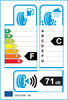 etichetta europea dei pneumatici per Nankang Sv-2 155 60 15 74 T M+S