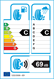 etichetta europea dei pneumatici per neolin Neowinter 205 50 17 93 V 3PMSF XL