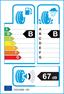 etichetta europea dei pneumatici per Nexen N'blue Hd Plus 215 65 16 98 H BSW