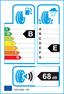 etichetta europea dei pneumatici per Nexen N'blue Hd Plus 155 70 13 75 T