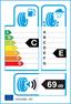 etichetta europea dei pneumatici per Nexen N'blue Hd 155 65 14 75 T