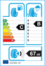 etichetta europea dei pneumatici per Nexen N8000 205 55 17 95 Y XL