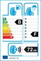 etichetta europea dei pneumatici per Nokian Hakkapeliitta R2 215 60 16