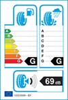 etichetta europea pneumatici Nokian Weatherproof 205 55 16 94 V 3PMSF XL