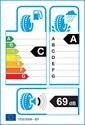 etichetta europea dei pneumatici per Nokian Weatherproof 205 55 16