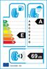 etichetta europea dei pneumatici per Nokian Weatherproof 205 55 16 91 V 3PMSF RUNFLAT