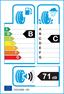 etichetta europea dei pneumatici per nokian Wr A3 255 40 19 100 V 3PMSF C M+S XL