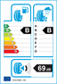 etichetta europea dei pneumatici per nokian Wr A4 225 45 18 95 V XL