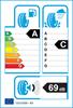 etichetta europea dei pneumatici per Nokian Wrd4 225 45 17 94 V 3PMSF XL