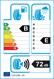 etichetta europea dei pneumatici per Nordexx Trac 65 Van 215 65 16 109/107 T