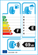 etichetta europea dei pneumatici per Orium Winter 185 65 15 88 T