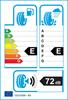 etichetta europea dei pneumatici per Ovation Vi-386 Hp 215 55 18 99 V XL