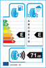 etichetta europea dei pneumatici per Ovation W586 145 70 12 69 T 3PMSF M+S