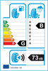 etichetta europea dei pneumatici per Petlas Fullgrip Pt935 195 75 16 107 R 8PR