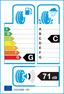 etichetta europea dei pneumatici per Petlas Fullgrip Pt935 155 80 13 85 N