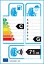 etichetta europea dei pneumatici per petlas Pt925 155 80 13 85 N 3PMSF M+S