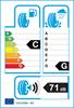 etichetta europea dei pneumatici per petlas Pt925 155 80 13 89 N 3PMSF 6PR C M+S