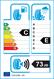 etichetta europea dei pneumatici per Petlas Snowmaster W651 195 55 15 85 H