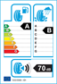 etichetta europea dei pneumatici per Pirelli Cinturato P7 205 60 16 92 V MO