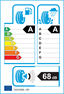 etichetta europea dei pneumatici per pirelli P7 225 45 17 91 Y