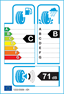 etichetta europea dei pneumatici per Pirelli P7 195 50 16 84 V