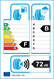 etichetta europea dei pneumatici per pirelli P7 205 60 16 92 H